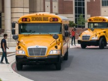 New Blue Bird School Buses
