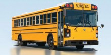 Blue Bird All American Rear Engine School Bus