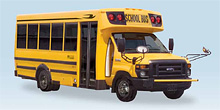 Blue Bird Micro Bird School Bus