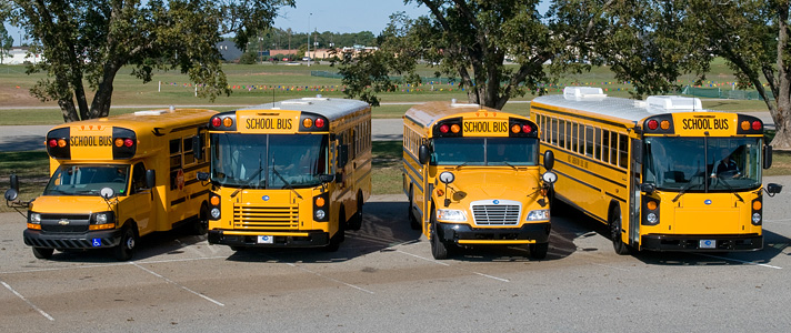 New and Used School Buses, Parts, and Service